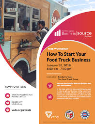 JAN 30 – How To Start Your Food Truck Business – FREE Workshop – The ...