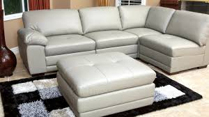 Poundex Bobkona Atlantic Sectional Sofa by Portman Leather Modular Sectional Video Gallery