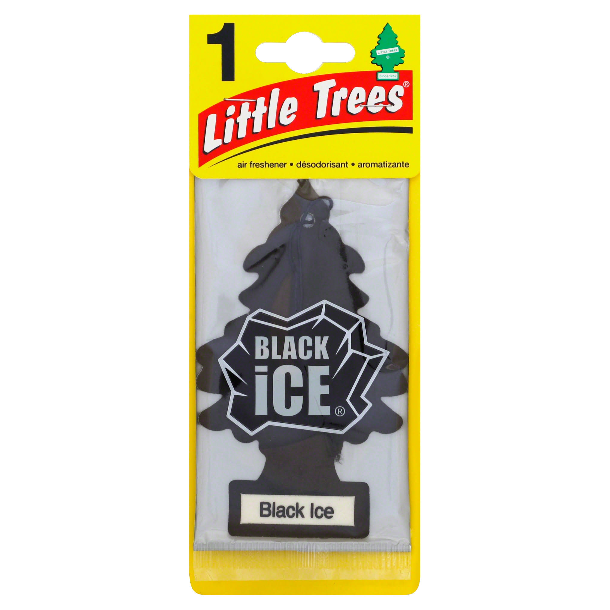 Little Trees Car Air Freshener - Black Ice