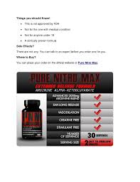 Pure Nitro Max Review Increase Muscle Mass Naturally