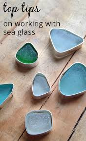 Sea Glass Bathroom Accessories by Great Tips On Working With Sea Glass From The Kernowcraft Blog I