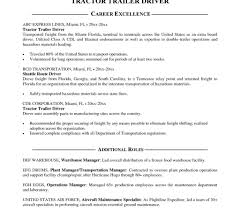 Staggering Truck Driver Resume Sample Templates Cdl Driving Samples ...