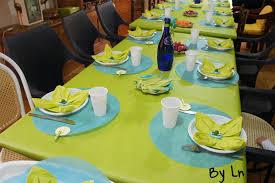 décoration de table pour l anniversaire d un enfant