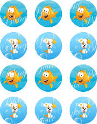 Bubble Guppies Cake Decorations by Bubble Guppies Edible Icing Cake Decor Topper U2013 Bling Your Cake