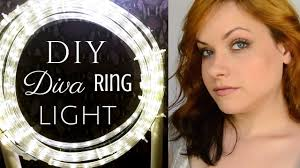 how to easy cheap ring light diy tutorial