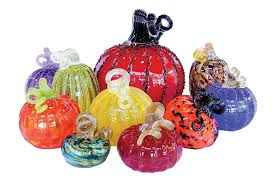 Seattle Pumpkin Patch by These Blown Glass Pumpkin Patches Turn Halloween Nostalgia Into