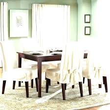 Slipcover Dining Room Chair Slipcovers For Chairs Stretch Pinstripe Knit