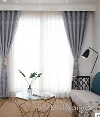 großhandel 2020 heißer verkauf vorhang flachs jacquard vorhänge einfache chinesische verdickte halbschatten vorhänge wohnzimmer studie balkon rosa
