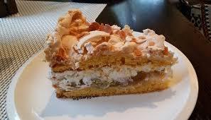 gluten und laktosefreie stachelbeer baiser torte bild