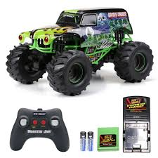 Monster Jam Grave Digger 1:10 RC Radio Remote Control Racing Truck ...