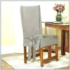 White Dining Room Chair Slipcovers Linen Covers Slipcover