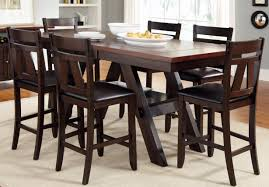 Dining Room Chairs Set Of 6 by Dining Room Modern Counter Height Dining Table Beautiful Tall