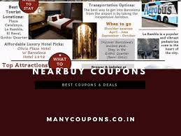 Add Nerabuy Coupons For Buying, Eating And Leisure Experience Latest Update July 2019 Hotelscom Discount Coupon Code Hotel Aliexpress Cashback Promo 5 Deals August Nigeria Showpo Discount Codes Findercom Wing On Travel Easyrentcars Off June Promo Coupon Makemytrip Coupons Offers Aug 1920 Min Rs1000 Off Codes Goibo Up To Rs3500 Spirit Airlines Flight Sales Skyscanner Free 20 Gift Card For Accommodation Upto Rs800 Off On Mmt