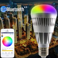 free shipping buy best 10w e27 b22 e26 rgb wireles bluetooth led