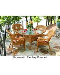 Portside PSD AM ZOECS 5 Piece Dining Set With Round Table And 4 Chairs