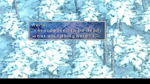 Earthbound Halloween Hack Plot by Playing Ff7 On My Pc And I Decided To Hack Aeris Back Into My