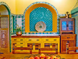 30 Colorful Kitchen Design Ideas From