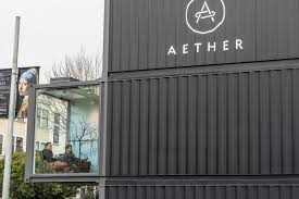 100 Shipping Containers San Francisco A Closer Look At Aether SFs Container Store