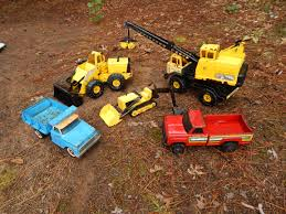 My Friend Has An Almost Full Set Of Original Metal Tonka Trucks. His ...