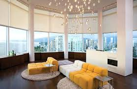 attractive contemporary living room lights kleer flo