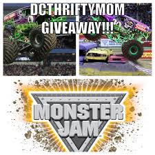 100 Monster Truck Verizon Center Jam DC Thrifty Mom Giveaway DCThriftyMomDCThriftyMom