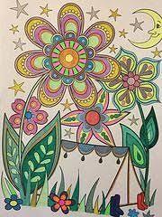 Happy Campers Coloring Book Design Originals Thaneeya McArdle 9781574219654 Amazon