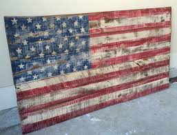 Distressed And Made To Look Rustic USA Pallet Flag By On Etsy