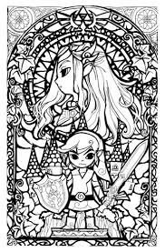 74 Best Legend Of Zelda Coloring Pages Images On Pinterest At