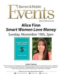 Smart Women Love Money - Alice Finn [11/19/17] Meet Jenn Mcallister 082915 The Typewriter Revolution Blog Upcoming Events In Ccinnati And Crossing At Smithfield Ws Development Online Bookstore Books Nook Ebooks Music Movies Toys Emerson College Bookstores 114 Boylston St Back Barnes Noble Cafe Boston Bay Restaurant Natalya Wwe Mister Science Faircom Book Release Video Former Umpire Bob Reflects On His Career Lady The Window Event Sept 21 I Fucking Love Ifnluvbos Beat Heat