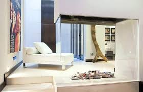 middle of the room glass fireplace for the home pinterest