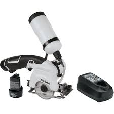 makita 12 volt max lithium ion 3 3 8 in tile glass saw kit cc01w
