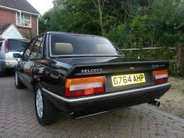Cool as Pug Peugeot 505 GTi PetrolBlog