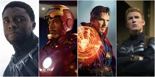 MCU Illuminati Black Panther Iron Man Doctor Strange Captain America