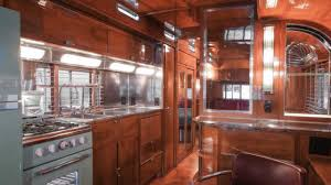 100 Restored Travel Trailer Hook Up To This Vintage Art Deco For 975K