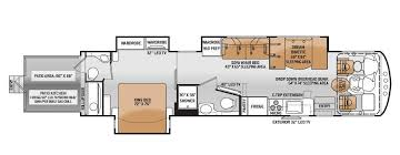 Outlaw Toy Hauler Floorplan