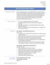 Resume Substitute Teacher No Experience Fine Sample Festooning Professional