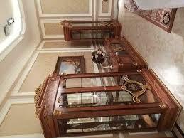 vitrine glas schrank wohnzimmer schaufenster 2türige vitrinen barock rokoko neu