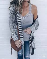 Cute Cardigan For Fall 2017 Outfit Ideas