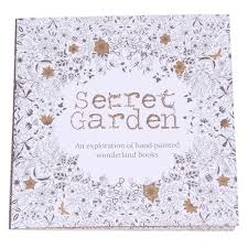 Secret Garden Coloring Book English Version Drawing Interesting Graffiti Books