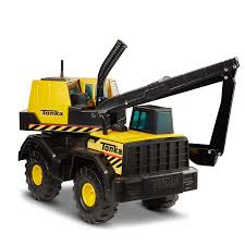 100 Tonka Crane Truck Amazoncom 93931 Classic Steel Backhoe Vehicle Toys Games