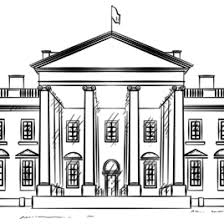 White House Coloring Page Free Printable Pages