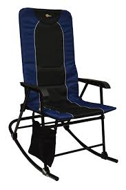 Faulkner 49598 Dakota Rocking Chair, Blue/Black
