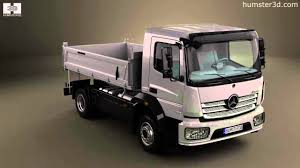 100 Mercedes Benz Truck 2013 Atego Tipper By 3D Model Store Humster3D