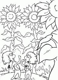 Dr Seuss Coloring Pages Thing 1 And 2