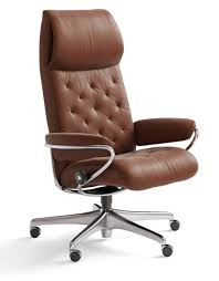 Stressless Metro High Back Stressless Office Recliner New York