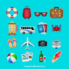Vector Free Graphics Holiday Icon Travel Agency Summer Icons Vectors Ms