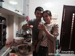 Huang Xiaoming Featured In Angelababys Weibo Update On Chinese