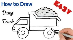 100 How To Draw A Truck Step By Step How To Draw A Dump Truck CumSeFace