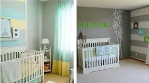 idées déco chambre bébé design interieur idées décoration chambre bébé rayure gris couleurs