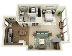 Spectacular Apartment Floor Plans Designs by Studio Home Designs Fashionable Idea 6 Apartment Floor Plans Gnscl